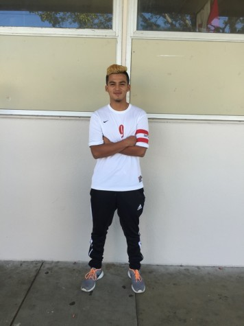 Soccer Captain: Angel Serrano
