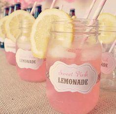 Orange Pink Lemonade Slush Punch