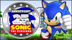 Sonic The Hedgehog 25th Anniversary