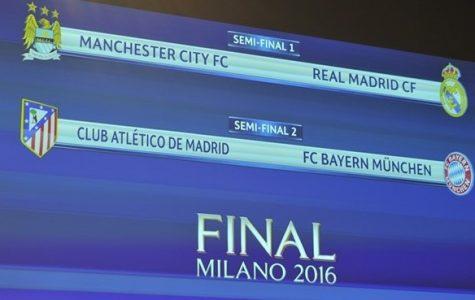 UEFA Champions League Semi-Final Draws