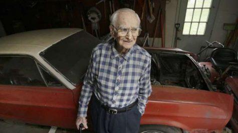 WWII Veteran Receiving The Restoration He Deserves