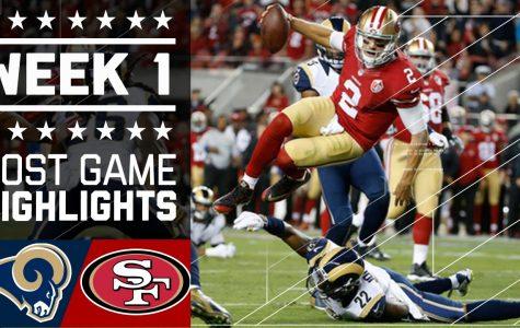 San Francisco 49ers week 1 offensive stats 2016