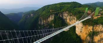 The Longest and Highest Glass Bridge in the World!