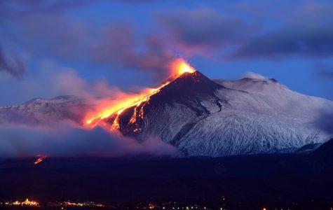 Erupting Etna