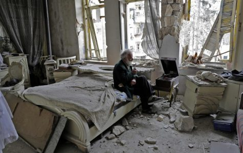 Syrian Car Collector Returns to His Car Collection in Aleppo.