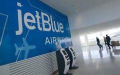 Jet Blue Boot