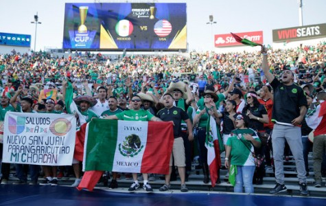 Mexico vs USA 2015 Rose Bowl Stadium