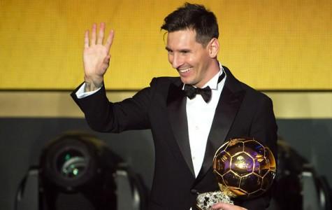 Messi wins BallondO'r