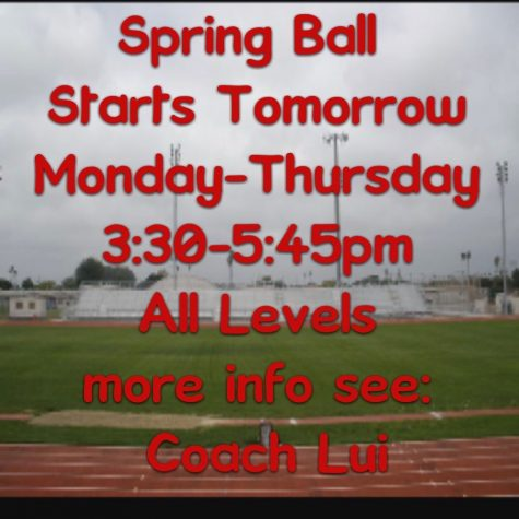 Spring Football is Coming!