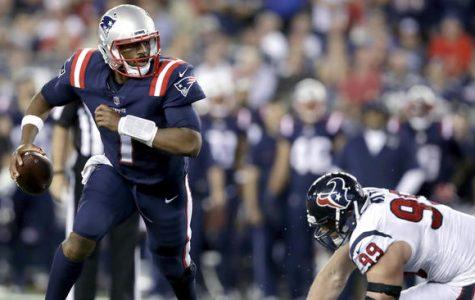 New England Patriots 3rd string rookie quarterback Jacoby Brissett