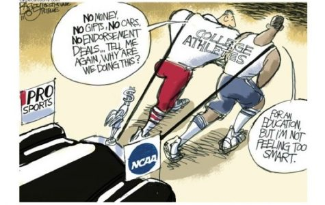 Should or Shouldn't Student Athletes Get Paid?