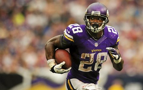 Adrian Peterson With Saints