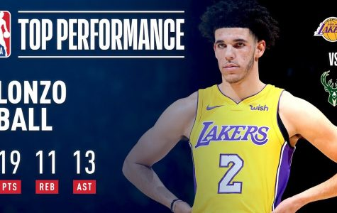 Lonzo for the triple double