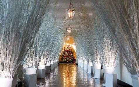 White House decorations are up!