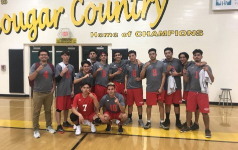 HHS Boys' Volleyballs' Clutch Win Against Ventura
