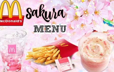 McDonalds themed Cherry Blossoms