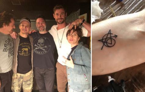 Avengers Cast gets Matching Tattoos!
