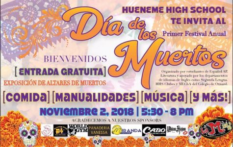 Hueneme High's Day of The Dead Festival!