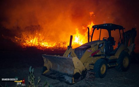 Biggest Fire In Ventura County, The Woolsey Fire