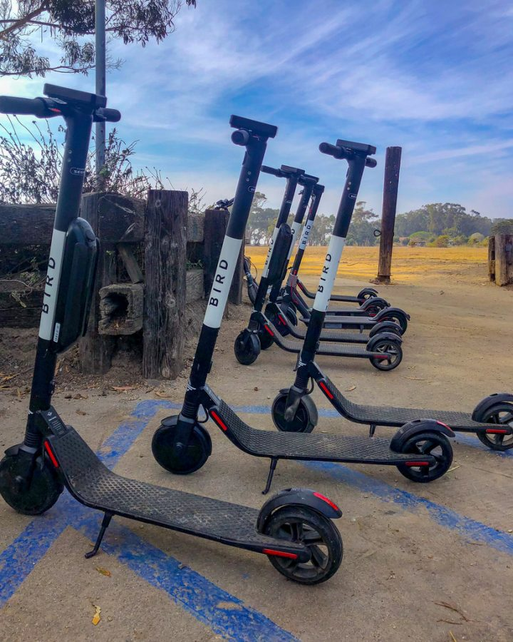 Electric Scooter Takeover ?