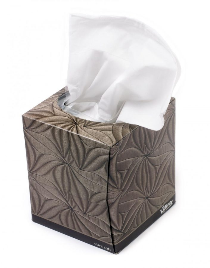 Company sells USED tissues starting at $80