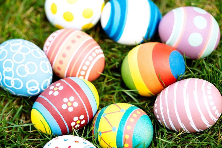 Easter Egg Hunt with Hueneme High School!