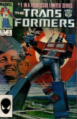 The Marvel Comics Transformers