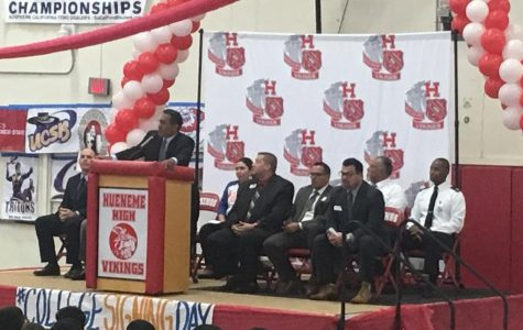 OUHSD Staff Attends Hueneme High Assembly