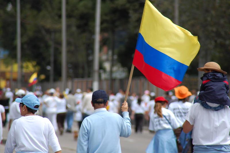Colombia+Joins+Political+Outcry+in+Latin+America+With+Protests
