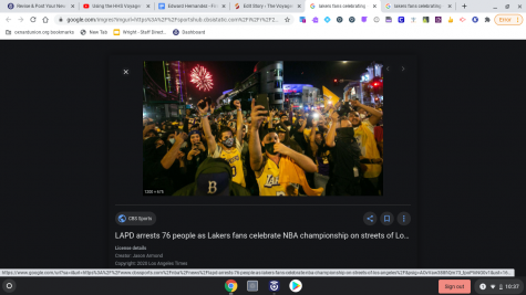 Fans Went Crazy Because the Lakers Won