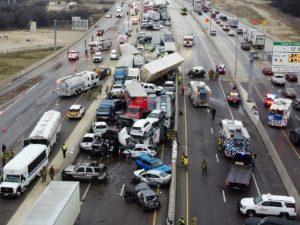 Huge Crash in Texas
