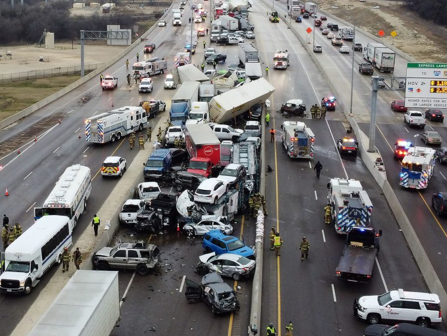 Huge Crash in Texas
